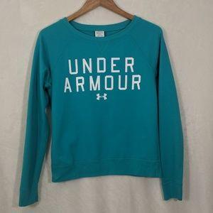 Under Armour Teal Sweatshirt